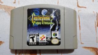 N64 Castlevania *portada Reimpresa* (no Mario,zelda,conker)