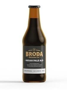 Cerveza Artesanal Broda Ipa 500 Cc Caja X 12u.