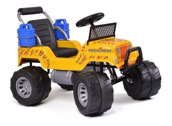 Jeep A Pedal Rodacross Explorator 3 A 7 Años 4x4 Calidad