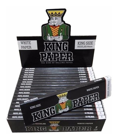 Seda Smoking King Paper Preta Blunt King Size 20 Livretos