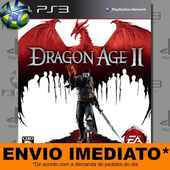 Jogo Ps3 Dragon Age Ii 2 Psn Play 3 Envio Imediato