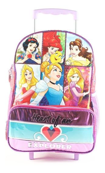 Mochila De Princesas Disney Original Carro 16 81253 Maple