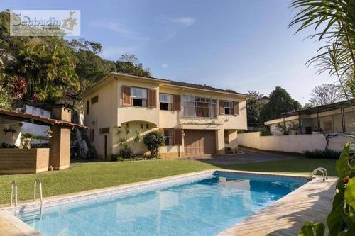Casa Com 5 Dormitórios À Venda, 300 M² Por R$ 950.000 - Quitandinha - Petrópolis/rj - Ca0381