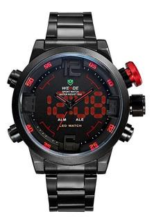 Reloj Weide Wh2309 Acero, Digital, Alarma Y Mas !!!