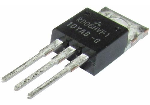 Transistor De Fm Potência Rd06hvf1 Rd06 Hvf1 7w Cze Czh