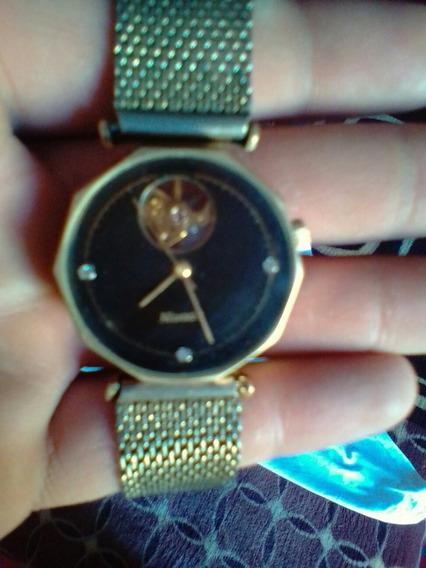Reloj Nivada Chapado En Oro