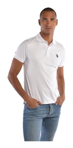 Polo Custom Fit U.s. Polo Multicolor Uslpm447391 Hombre