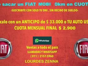 Fiat Mobi 0km 2018 - Anticipo $ 33.000 - Tomo Tu Usado .5