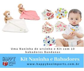Kit Bebê Naninha E 10 Babadores 11 Peças