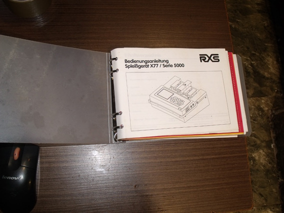 Manual Maquina De Fusão X77 / Serie 5000