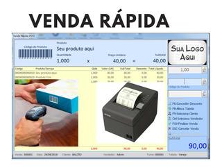 Sistema Software P/ Controle Estoque, Carnê Promissória Loja
