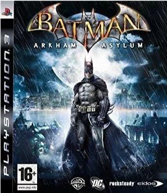 Batman Arkham Asylum Goty Ps3 Mídia Física Usado