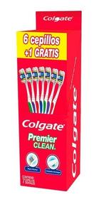 Colgate Premier Clean Cepillo Dental 6 Pz