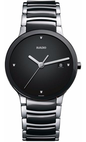 Reloj Rado Centrix Jubilé R30934712 Cerámica Negro-plateado