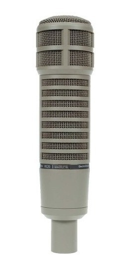 Microfone Electro-voice Dinâmico P/ Estudio Re 20 Imperdível