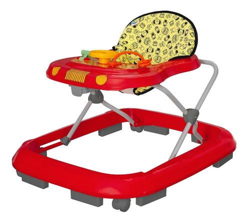 Imagem 1 de 4 de Andador Bebê Regulagem Altura Até 15kg Toy C/ Certificação