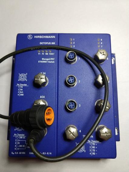 Switch Ethernet Hirschmann Octopus 8m Managed Ip67