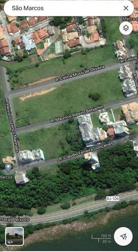 Imagem 1 de 1 de Terreno À Venda, 450 M² Por R$ 250.000,00 - São Marcos - Macaé/rj - Te0018