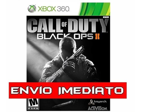 Call Of Duty Black Ops Ii Cod Bo 2 Xbox 360 - Mídia Digital