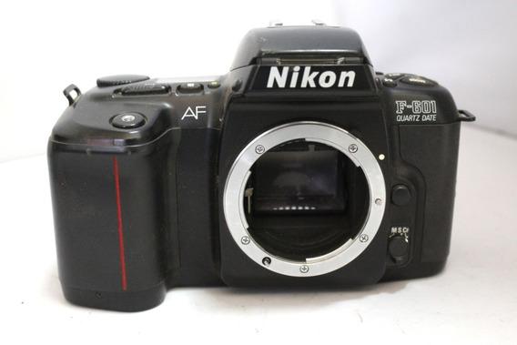 Câmera Fotografica Nikon F-601 Colecionadores Retirada Peça