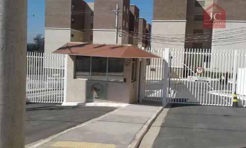 Apartamento Com 2 Dormitórios À Venda, 55 M² Por R$ 185.000,00 - Jardim Petrópolis - Cotia/sp - Ap0182