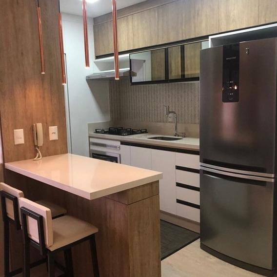 Apartamento Semimobiliado Á Venda Criciúma, Sc