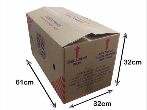 Caixa De Papelão Usada P/ Mudança 10 Unidades
