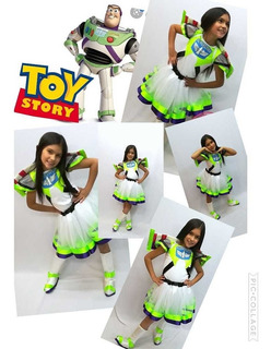 Disfraz Disfraces Niña Toy Story Buzz Lightyear Halloween