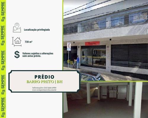 Imagem 1 de 13 de Prédio À Venda, 730 M² - Barro Preto - Belo Horizonte/mg - Pr0004