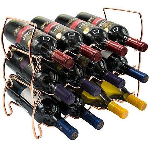 Sorbus 3tier Stackable Wine Rack Botellas De Vino De Estilo