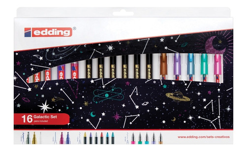 Galactic Set Edding X 16 Unds