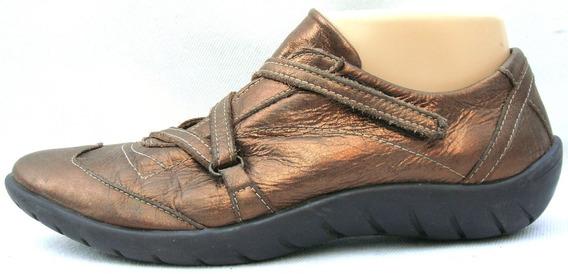 Sofi Martire Zapatos 38 Cuero Vacuno Dorado Bronce (ana.mar)