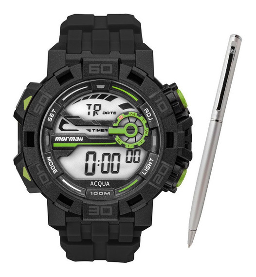 Relógio Mormaii Masculino Mo1148ac/8a C/ Garantia E Nf