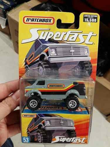 Matchbox - Superfast - 4x4 Chevy Van  - 1:64