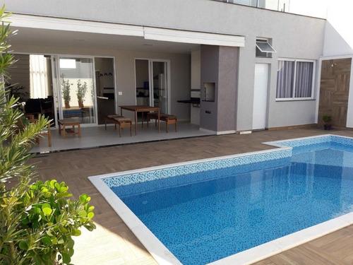 Sobrado 3 Suítes E Piscina À Venda, 226 M² Por R$ 1.200.000 - Condomínio Ibiti Reserva - Sorocaba/sp - Ca1116
