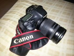 Camera Canon Eos 7d Profissional + Lente 200mm
