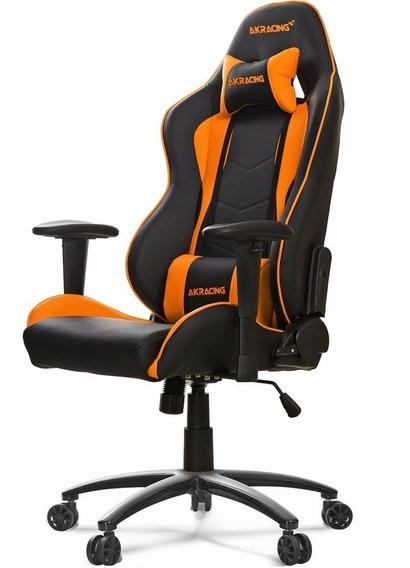 Cadeira Gamer Akracing Nitro Orange - Ak-nitro-or + Nfe