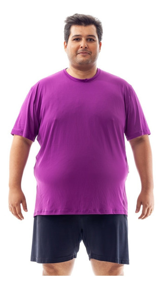 Kit 6 Camisetas Plus Size Dry Fit 100% Poliamida Corrida