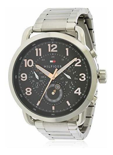Tommy Hilfiger 1791422 Reloj Cronografo De Cuarzo Negro Con