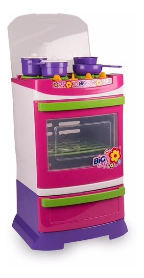 Brinquedo Infantil Fogão Big Chef - Poliplac