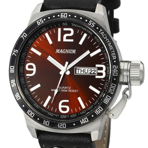 Relógio Magnum Masculino Military Ma31542z Original + Nota