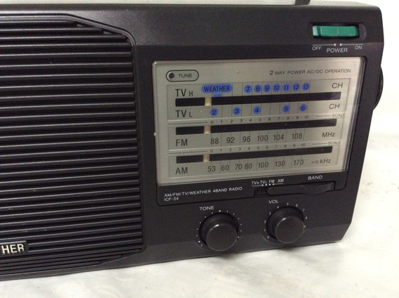 - Radio Sony Am Fm Tv - Ótima Qualidade - 90s
