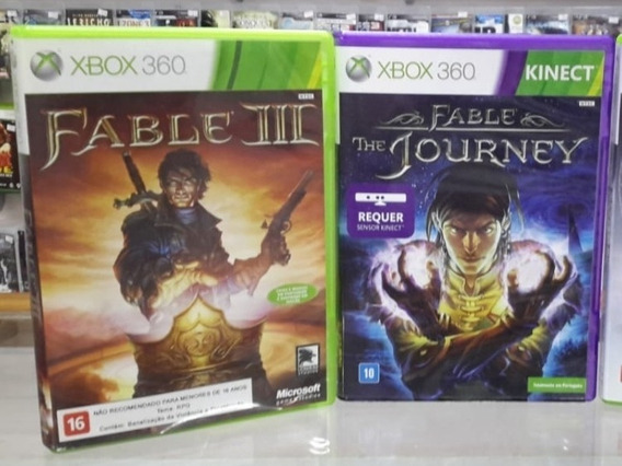 Jogos Xbox 360 - Fable ( The Journey , Iii)