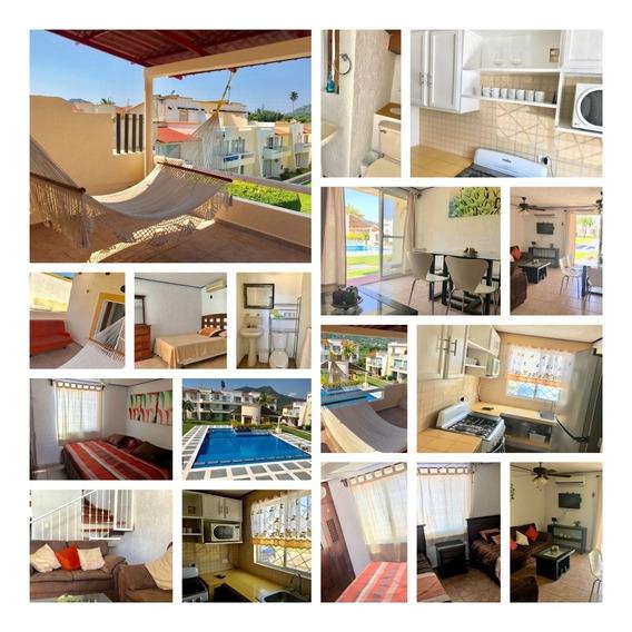 Casa En Fraccionamiento La Palma 3 Recámaras Acepto Créditos