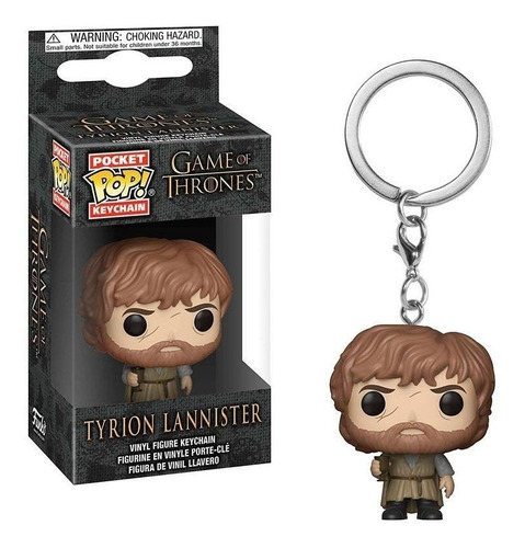 Funko Keychain: Tyrion Lannister - Game Of Thrones (tv)