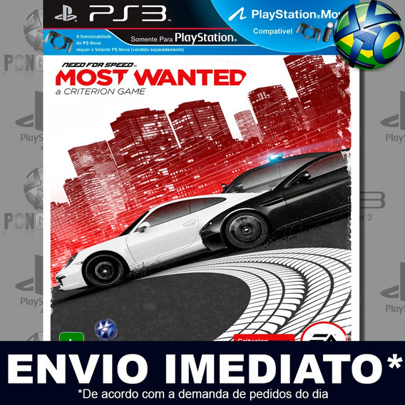 Need For Speed Most Wanted Ps3 Psn Jogo Em Promoção Play 3