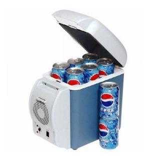 Mini Cooler Geladeira Para Carro 7,5l Portátil 12v Viagem