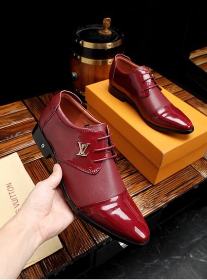 Zapatos Louis Vuitton Casual Top Original ( Bajo Pedido)