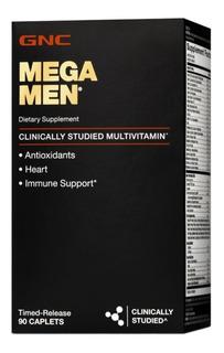 Multivitaminico Gnc Mega Men 90 Caps - Pronta Entrega