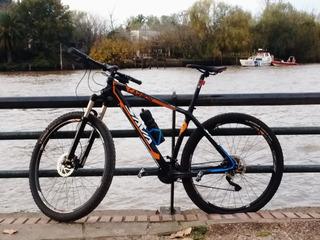Bicicleta Mtb Sava Deckaro Fibra De Carbono. Deore Xt.